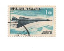 TIMBRE FRANCE 1969  M N°2634  1ER VOL DU CONCORDE