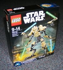 STAR WARS LEGO 75112 GENERAL GRIEVOUS BUILDABLE FIGURE BRAND NEW SEALED