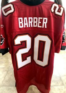 Ronde Barber Tampa Bay Buccaneers 2002 authentic Reebok red stitched jersey NEW