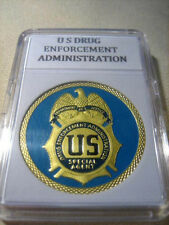 U S DRUG ENFORCEMENT ADMINISTRATION (DEA) Challenge Coin