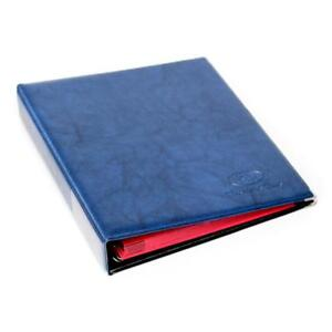 221 CLASSIC COIN ALBUM FOR YOUR COLLECTION -10 PAGES AND 10 DIVIDER ( BLUE )