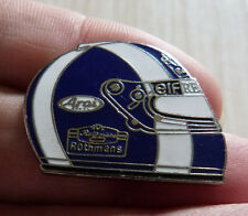 BEAU PIN'S F1 FORMULA ONE CASQUE PILOTE DAVID COULTHARD MFS EGF