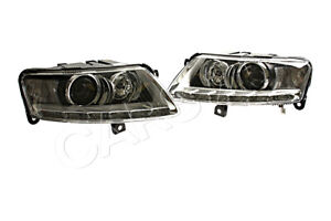 HELLA Headlight Left+Right Side For AUDI A6 C6 04-12