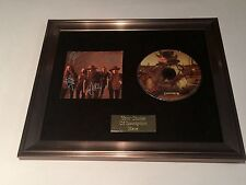 SIGNED/AUTOGRAPHED BLACKBERRY SMOKE - HOLDING ALL THE ROSES CD FRAMED PRESENTATI
