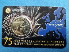 België 2.5 euro 2020 BU1945 - 2020 VREDE EN VRIJHEID Coincard Direct