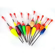 10PCS/Lot Mix Size Color Ice Fishing Accessories Tackle Carp For Floats Boia