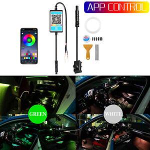 3M RGB LED Car Fiber Optic Interior Lamp Decor Ambient Light Strips App Control