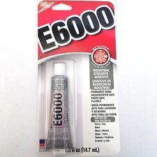 E6000 Glue - Industrial Strength Adhesive - 29.5 ml - Clear - PERMANENT BOND