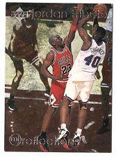 Michael Jordan 1997 Upper Deck REFLECTION Obsess With Winning Basketball Card
