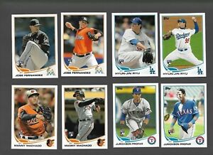 2013 Topps Series 1 + 2 Baseball Complete Set MACHADO / RYU / PROFAR ROOKIE (MR)