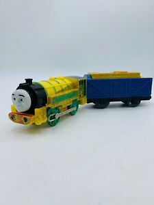Thomas & Friends Trackmaster Train Motorized Talking Victor With Tender , 2011