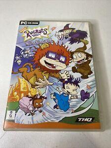Rugrats Munchin Land Kids PC Game CD ROM Nickelodeon 2002 Windows