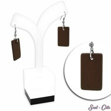 1 Paar schicke Ohrstecker aus Holz Ohrstecker aus Holz Natur Ohrringe braun