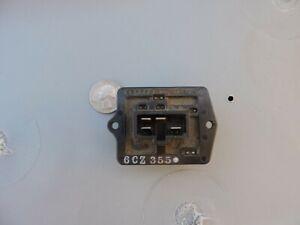 ONE Chevy Tracker blower motor resistor OEM 6CZ355 Geo Suzuki Vitara