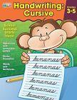 Handwriting: Cursive Workbook Grade 3-5 Student Practice Writing Kids Book New