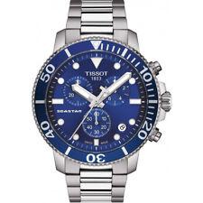 NEW TISSOT SEASTAR 1000 QUARTZ CHRONO BLUE T1204171104100 T120.417.11.041.00