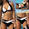 Women Monokini Bikini Set Bandage Push-Up Bra Swimwear Swimsuit Bathing Suit