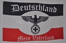 FAHNE FLAGGE DR 3975 SCHWARZ WEISS ROT DEUTSCHLAND MEIN VATERLAND