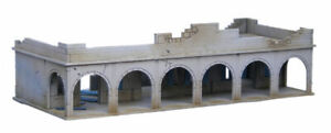North African/Colonial Souk Single Storey Destroyed Building 20mm MDF Sarissa...