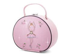 Pink Sparkly Ballerina Dance Ballet Vanity Case By Katz Christmas Birthday KB102