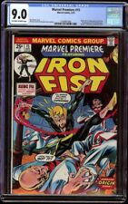Marvel Premiere # 15 CGC 9.0 OW/W (Marvel, 1974) 1st appearance Iron Fist