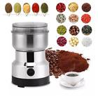 Electric Coffee Bean Grinder Nut Spice Grinding Milling Blender Stainless Steel