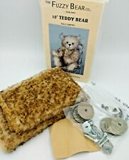 Teddy Bear Kit from The Fuzzy Bear Co. Artist Anita Kelsey Makes 1 Complete Bear
