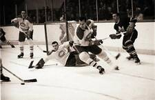 Old Ice Hockey Photo 1950s Hockey Montreal Canadiens Emile Butch Bouchard