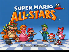 Super Mario All Stars PAL Rare Awesome SNES Game