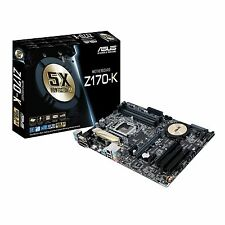 ASUS Z170-K - ATX Motherboard for Intel Socket 1151 CPUs