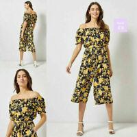 NEW RRP £28 Ex Dorothy Perkins Multi Colour Floral Print Jumpsuit
