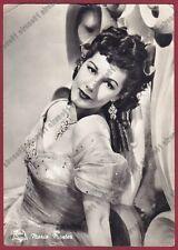 MARIA MONTEZ 03 ATTRICE ACTRESS ACTRICE CINEMA MOVIE Cartolina FOTOGR viagg 1951