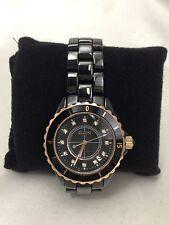 New ELGIN watch men black FK-1376C-B from Japan Brand New