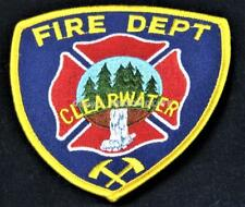 CLEARWATER FIRE DEPARTMENT BRITISH COLUMBIA Canada PATCH Unused