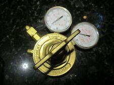 Victor Sr452b Brass Compressed Methane Or Hydrogen Gas Regulator 3000psig
