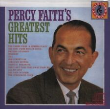 PERCY FAITH & HIS ORCHESTRA CD - GREATEST HITS (2008) - NEW UNOPENED
