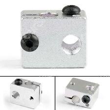 5x V6 Aluminio Heater Block Para 3D Impresora Heating Block Extrusora Hot End