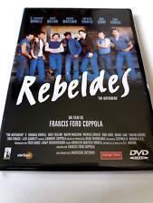 "DVD ""REBELDES"" COMO NUEVO FRANCIS FORD COPPOLA TOM CRUISE PATRICK SWAYZE"