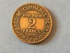 BON POUR 2 FRANCS  1924