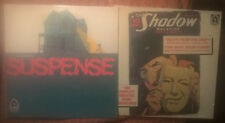 Sealed Vinyl LP Record Lot of 2 The Shadow Suspense Orson Welles Radio Show