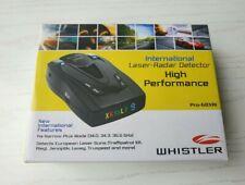 Pro 68XRi INTL Whistler NEW Radar Detector international version.