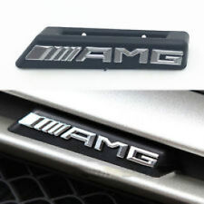 NEW AMG Radiator Grille Emblem Badge Model Plate For Mercedes W205 C-Class C63