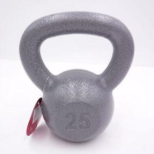 Weider 25 lb Kettlebell Weight Cast Iron WKB2513 (25 Pounds Total)