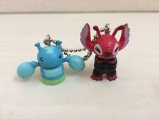 Disney toy figure model Leroy And Stitch Friend Keychain. RARE