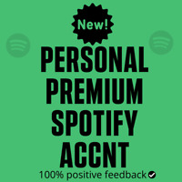 Spotfy Premium | New Personal Account | 3 Months Warranty | Worldwide