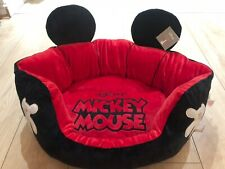 Primark Disney MICKEY MOUSE Red Dog Pet Bed LIMITED EDITION