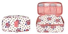 Portable Travel Protect Bra Underwear Organizer Bra Pink Storage Bag NWT