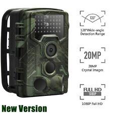 Jagdkamera Wildkamera 20MP 1080P FullHD IP66 Wasserdicht Fotofalle IR Nachtsicht