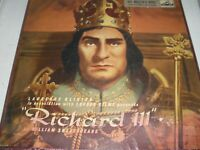 Laurence Olivier Richard III 3-Record Set with Programme HMV ALP.1341-1343