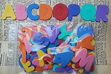 Funky Foam x4 alfabeti X104 lettere muoiono tagli Cardmaking personalizzare nomi Kids